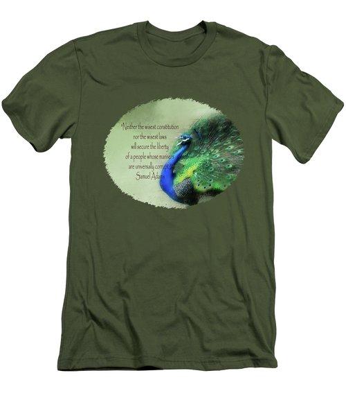 Samuel Adams - Quote Men's T-Shirt (Athletic Fit)