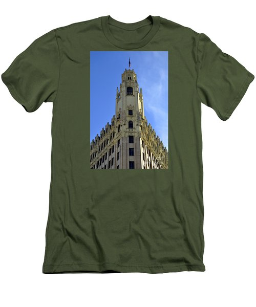 San Antonio Building 3 Men's T-Shirt (Athletic Fit)