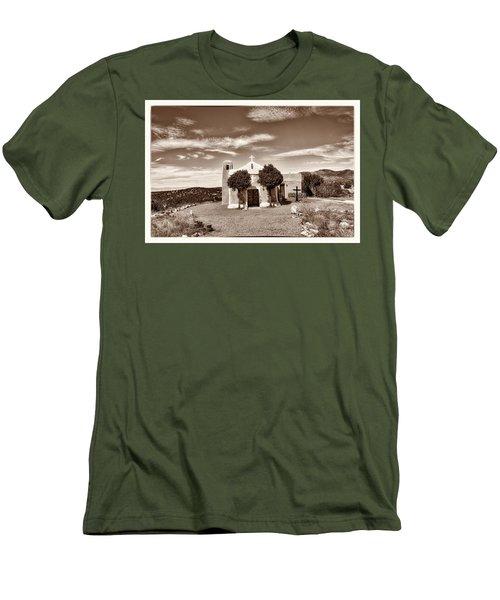 San Francisco De Asis  Est 1839 Men's T-Shirt (Slim Fit) by Robert FERD Frank