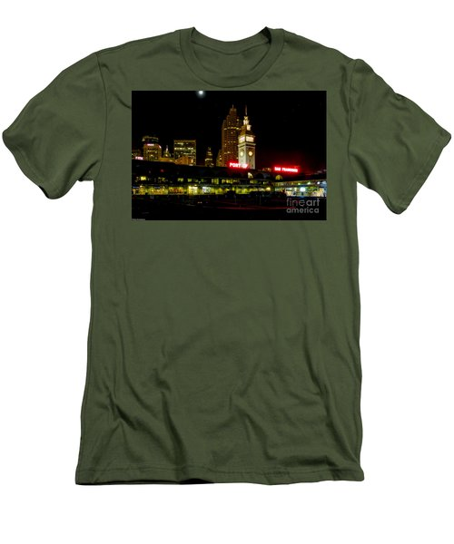 San Francisco Nights Men's T-Shirt (Athletic Fit)