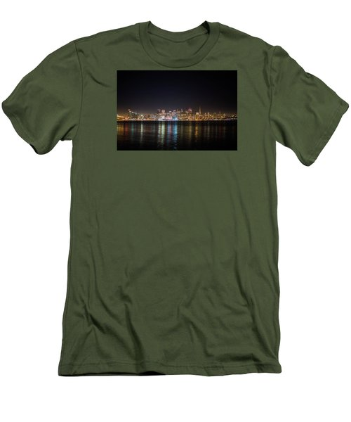 San Francisco Shot Men's T-Shirt (Athletic Fit)