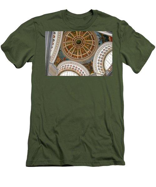 San Juan Capital Building Ceiling Men's T-Shirt (Athletic Fit)
