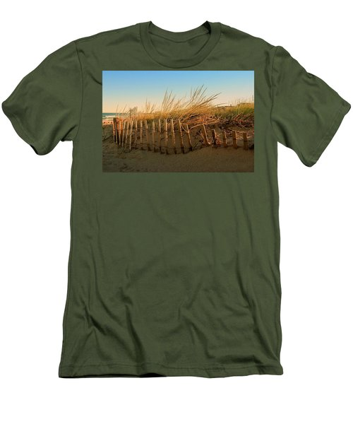Sand Dune In Late September - Jersey Shore Men's T-Shirt (Athletic Fit)