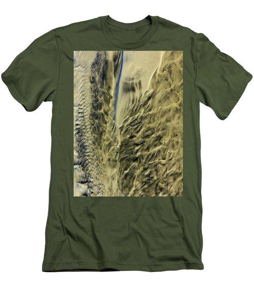 Sand Sculpture Men's T-Shirt (Athletic Fit)