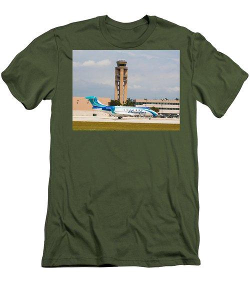 Sandals Beaches Jet Men's T-Shirt (Athletic Fit)