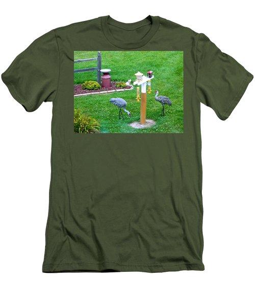 Sandhill Alert Men's T-Shirt (Athletic Fit)