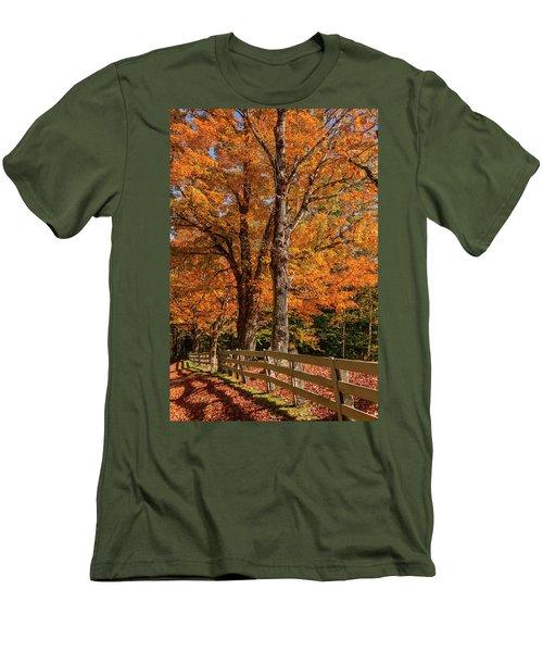 Sandwich Autumn Men's T-Shirt (Athletic Fit)