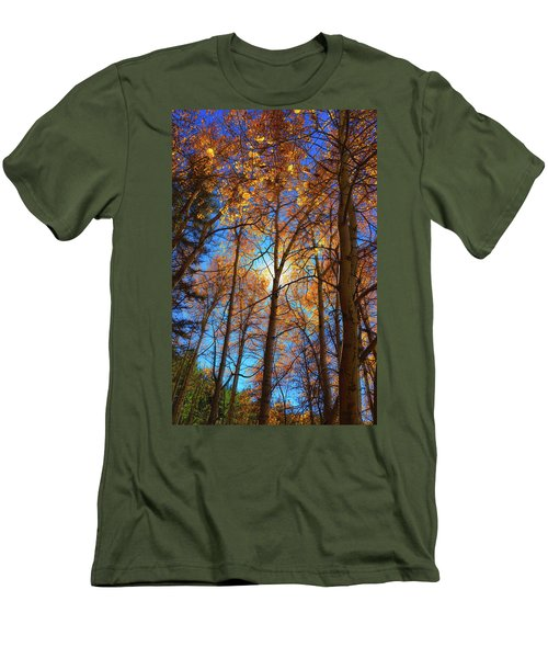 Santa Fe Beauty II Men's T-Shirt (Slim Fit) by Stephen Anderson