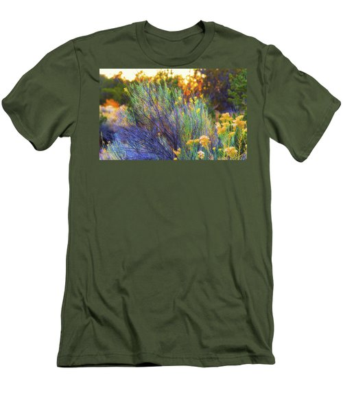 Santa Fe Beauty Men's T-Shirt (Slim Fit) by Stephen Anderson