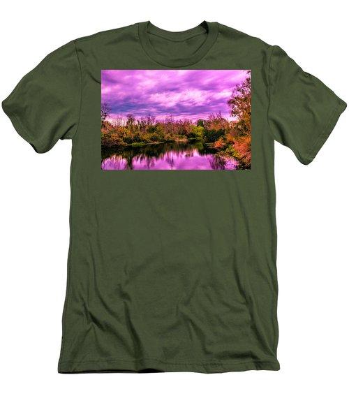 Men's T-Shirt (Slim Fit) featuring the photograph Sarasota Symphony 2 by Madeline Ellis