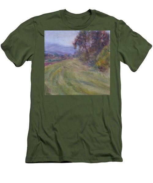 Sauvie Green Men's T-Shirt (Athletic Fit)