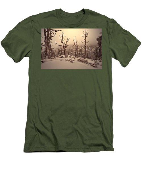 Saving You  Men's T-Shirt (Slim Fit) by Mark Ross