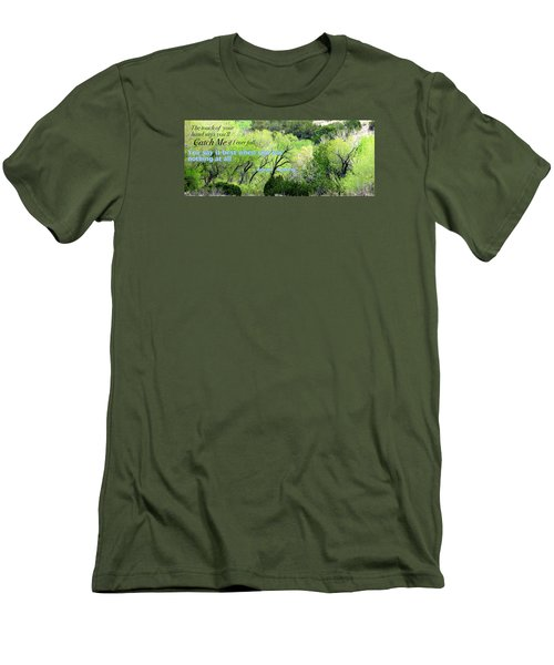 Men's T-Shirt (Slim Fit) featuring the photograph Say Nothing by David Norman