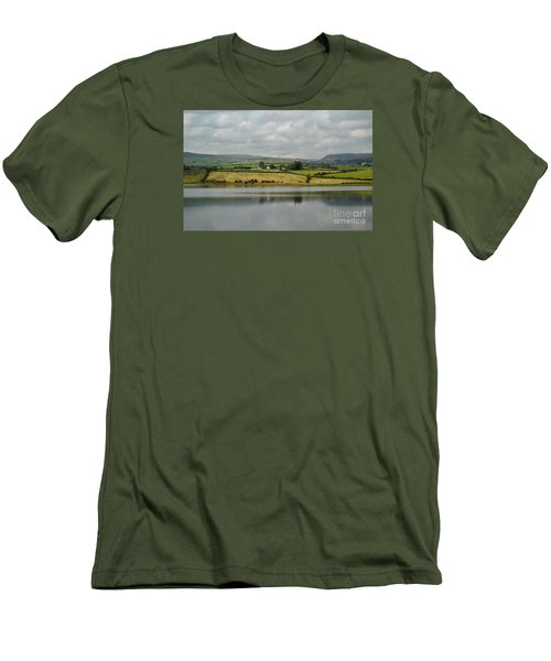 Scenic Scotland Men's T-Shirt (Slim Fit) by Amy Fearn