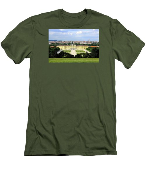 Schloss Schoenbrunn, Vienna Men's T-Shirt (Athletic Fit)