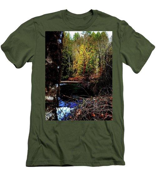 Scoggins Creek 3 Men's T-Shirt (Athletic Fit)