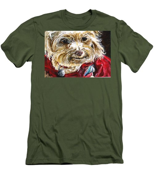 Scooter From Muttville Men's T-Shirt (Athletic Fit)