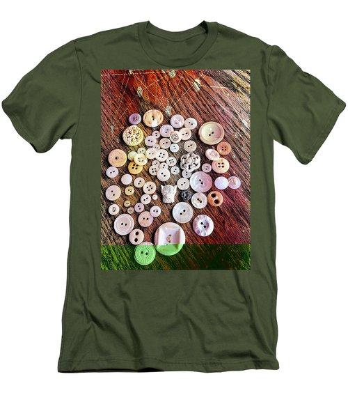 Scotty Men's T-Shirt (Slim Fit) by Karl Reid