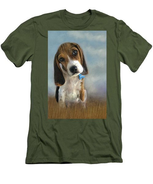 Men's T-Shirt (Slim Fit) featuring the photograph Scout by Steven Richardson