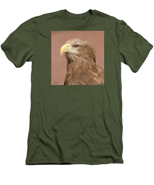 Sea Eagle Men's T-Shirt (Slim Fit) by Roy McPeak