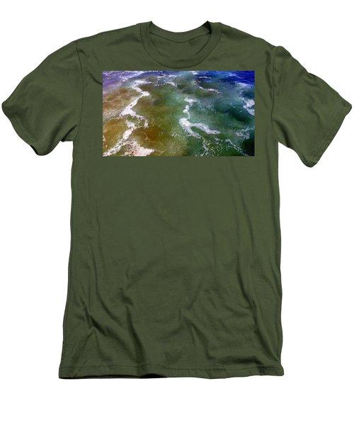Sea Foam 2 Men's T-Shirt (Athletic Fit)