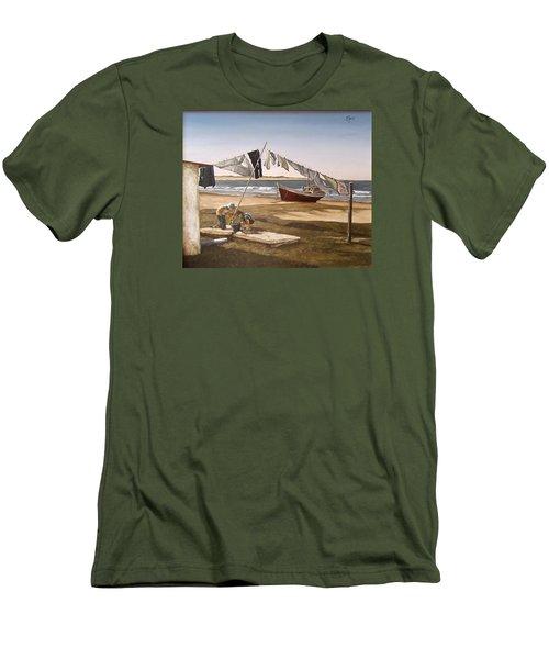 Sea Kids Men's T-Shirt (Athletic Fit)