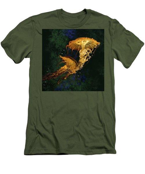 Sea Nettle Jellies Men's T-Shirt (Athletic Fit)