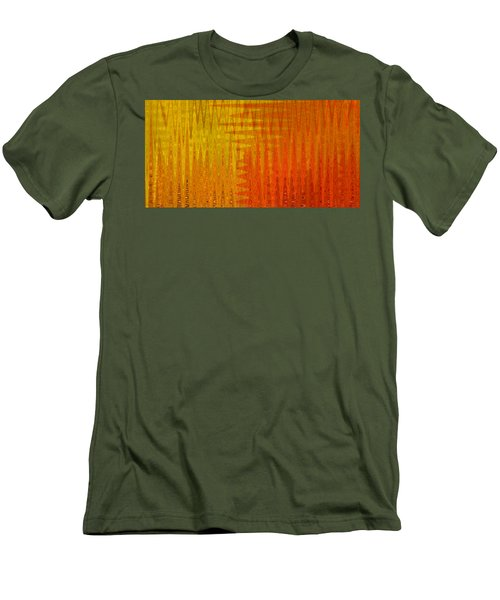 Sea Song Sun Rise Men's T-Shirt (Slim Fit) by Stephanie Grant