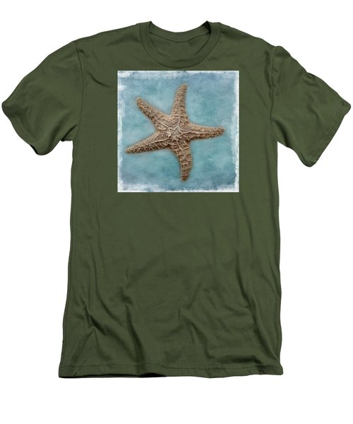 Sea Star Men's T-Shirt (Slim Fit) by David and Carol Kelly