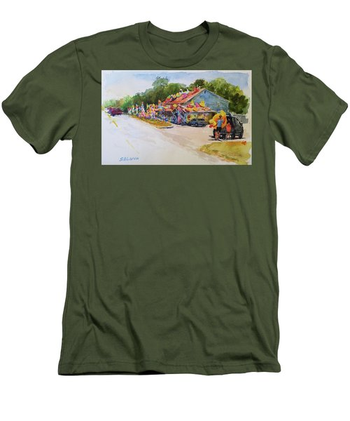 Seaberry Surf Gifts, Wellfleet Men's T-Shirt (Athletic Fit)
