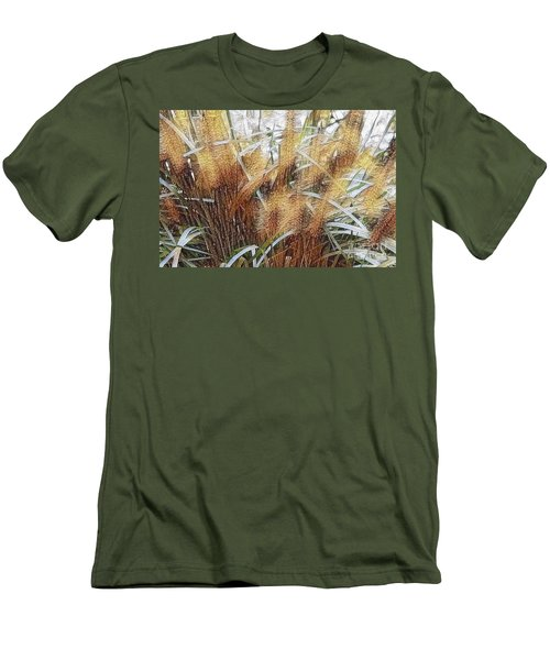 Seagrass Men's T-Shirt (Slim Fit) by Judy Palkimas