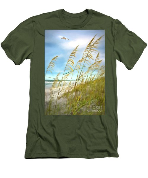 Seaoats Fantasy Men's T-Shirt (Slim Fit)