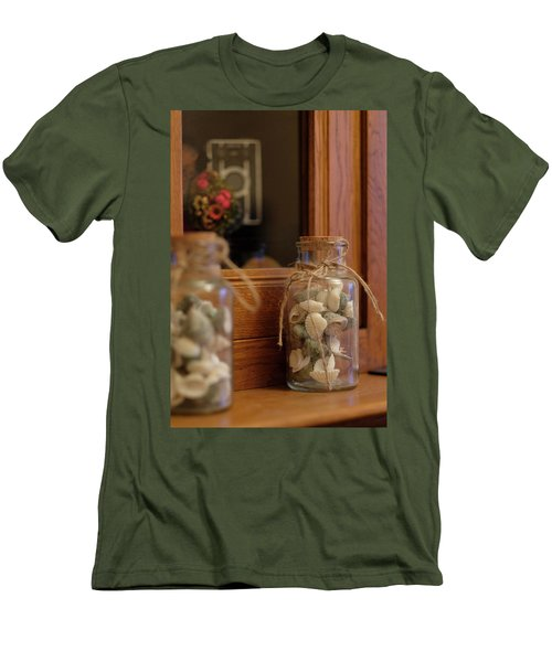 Men's T-Shirt (Athletic Fit) featuring the photograph Seashells by Jeremy Lavender Photography