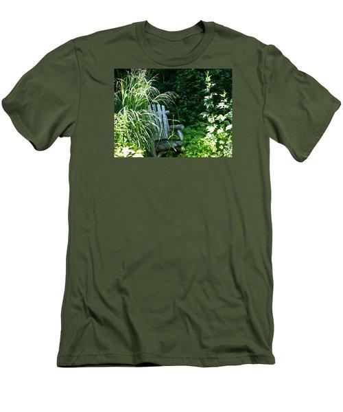 Secret Garden Men's T-Shirt (Slim Fit) by Tina M Wenger