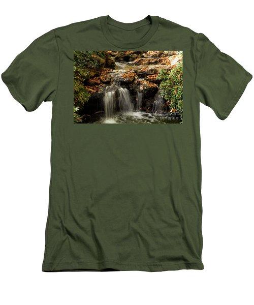 Men's T-Shirt (Slim Fit) featuring the photograph Secret Spot by Iris Greenwell