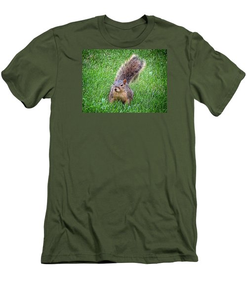 Secret Squirrel Men's T-Shirt (Slim Fit) by Kyle West