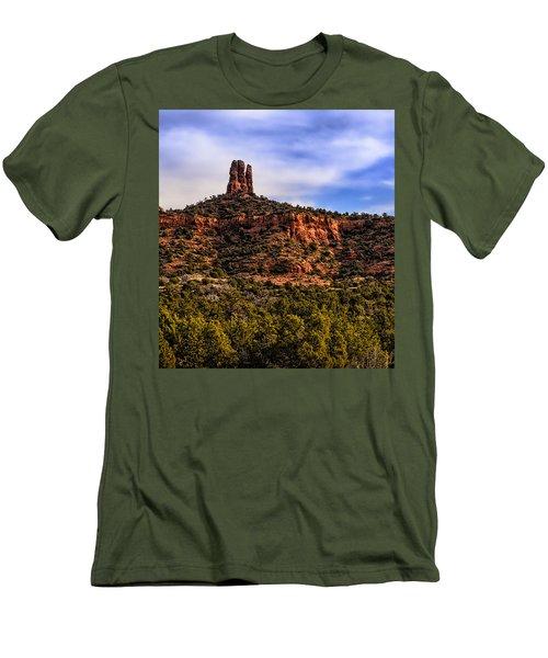 Sedona Morning 21 Men's T-Shirt (Athletic Fit)