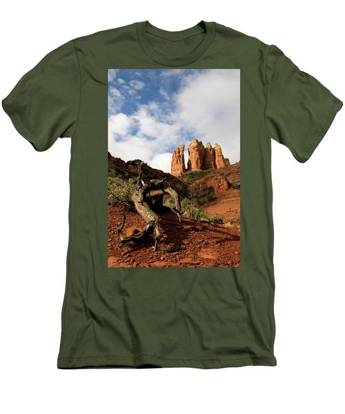 Sedona Red Rocks No. 01 Men's T-Shirt (Athletic Fit)