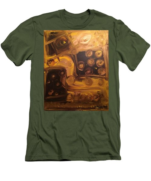 Seeing Into Space Men's T-Shirt (Slim Fit)