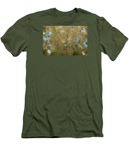 Seek Peace Men's T-Shirt (Slim Fit) by The Art Of Marilyn Ridoutt-Greene