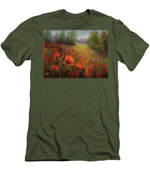 Seeking His Face Men's T-Shirt (Athletic Fit)