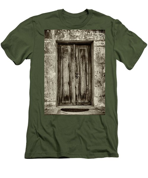 Men's T-Shirt (Slim Fit) featuring the photograph Seeking Sanctuary - 2 by Stephen Stookey