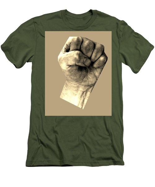 Self Portrait Too Men's T-Shirt (Slim Fit) by Cletis Stump