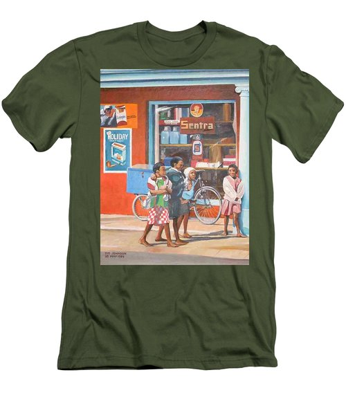 Sentra Men's T-Shirt (Slim Fit) by Tim Johnson
