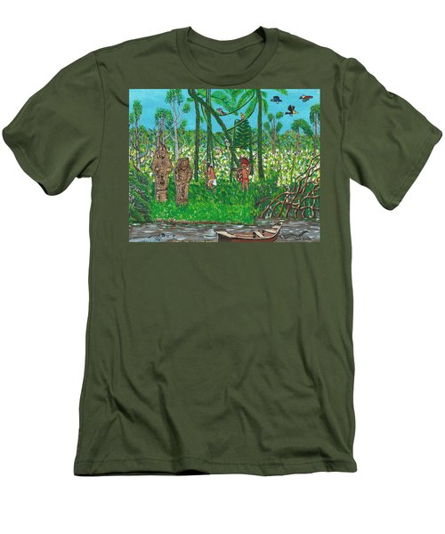 September   Hunters In The Jungle Men's T-Shirt (Athletic Fit)