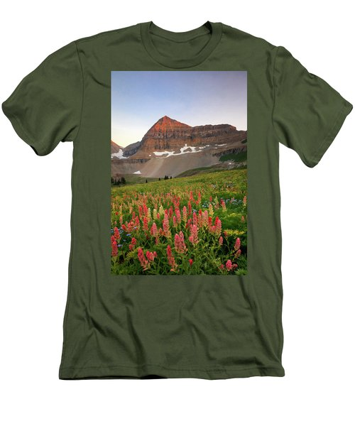 September Wildflowers Men's T-Shirt (Athletic Fit)