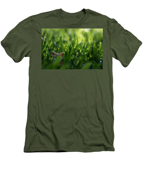 Men's T-Shirt (Slim Fit) featuring the photograph Serendipity by Laura Fasulo