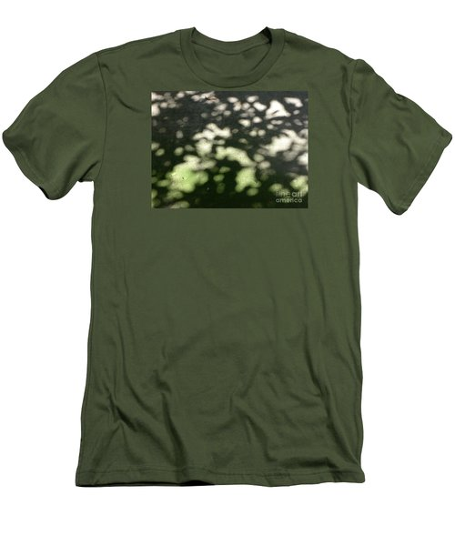 Men's T-Shirt (Slim Fit) featuring the photograph Shaded Patterns by Nora Boghossian
