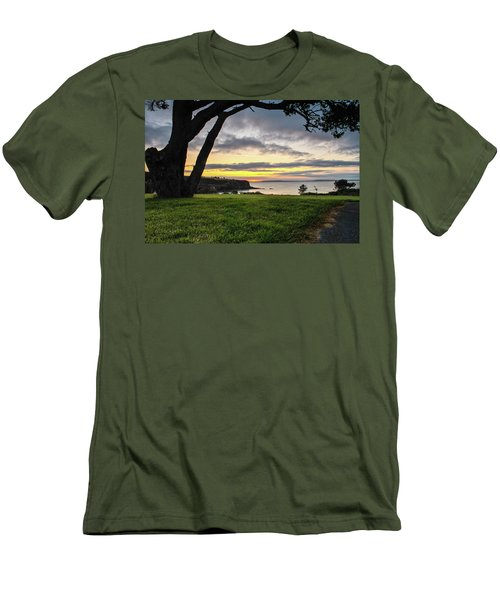 Shaded Sunrise Men's T-Shirt (Athletic Fit)