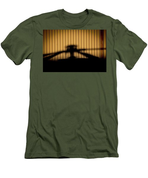 Men's T-Shirt (Slim Fit) featuring the photograph Shadow Rotor by Paul Job